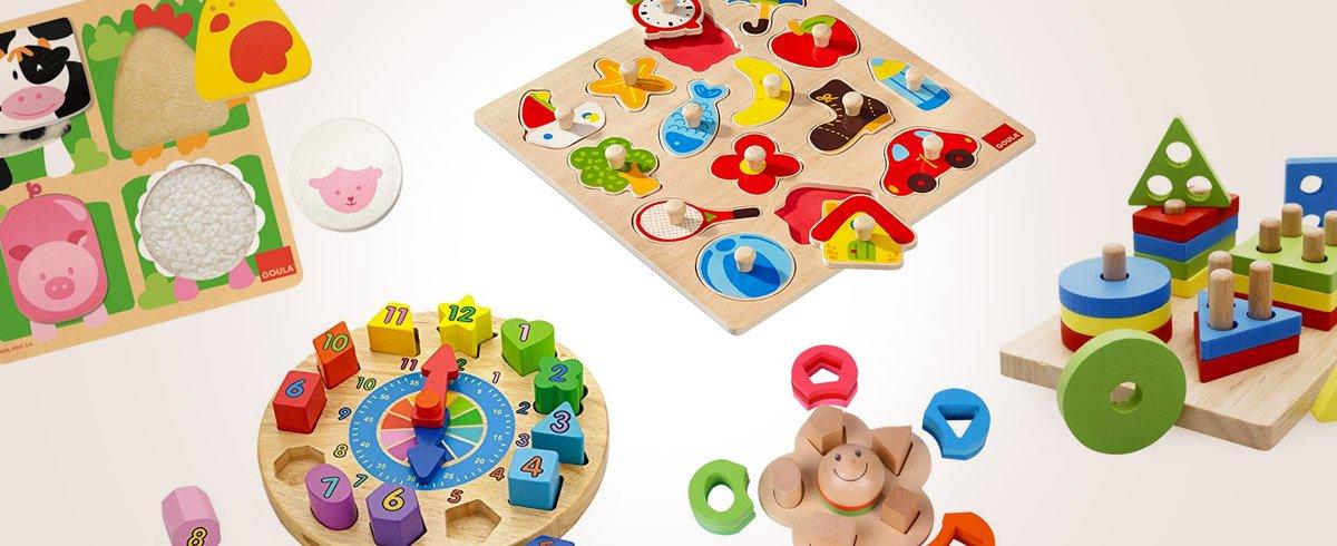 28 Puzzle per bambini in legno da 1 a 5 anni