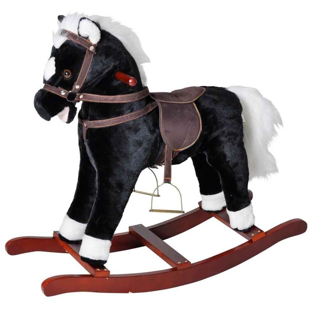 Brauny, cavallino a dondolo-kalena