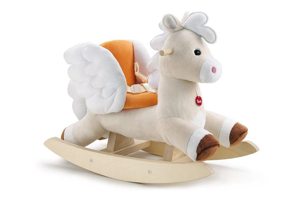 Cavallo Dondolo Bambini.Giochi Cavalcabili Di Peluche Per Bambini Kalena It