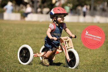 Bicicletta senza pedali, la prima non si scorda mai!